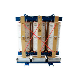 12-impulse variable frequency rectifier dry type transformer